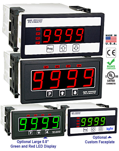 Texmate Panel Meter DL-40PSF-PROCESS