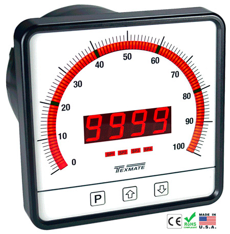 Texmate Panel Meter Controller CL-B101D40RPM